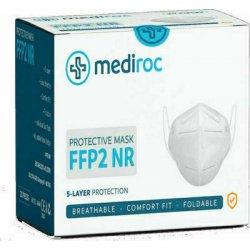 Mediroc Μάσκα KN95 Προσώπου FFP2 NR 5 Layers Κουτί 20 τμχ. (πιστοποιημένο προϊόν) A666 + Δώρο 5 τεμάχια