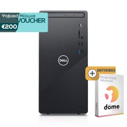 Dell Inspiron 3881 MT (i7-10700/8GB/512GB/GeForce GTX 1650 Super/W10) + antivirus (1 Licence - 2 Year)