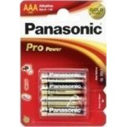 1x4 Panasonic Pro Power LR 03 Micro AAA