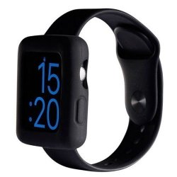 Boompods Boomtime Silicon Cover for Apple Watch 42mm black
