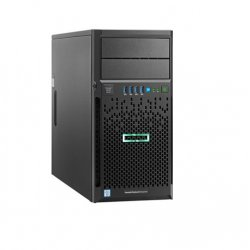 Server HPE ProLiant ML30 Gen9, E3-1220v6 3.00GHz (4C), B140i/ZM (RAproduct_id 0/1/1+0/5), 1x 2GbE, 1 x 8GB UB, no HDD (up to 4 HP LFF SATA), DVD-RW, 1 x350W (P03705-425)