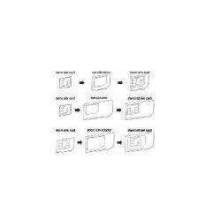 SIM προσαρμογέα κάρτας No brand - 14234