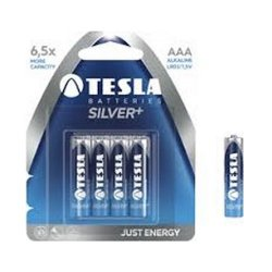 Tesla Βatteries Silver+ AAA (4τμχ)