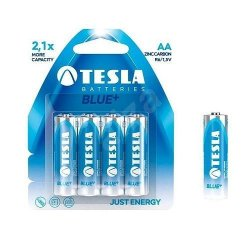Tesla Batteries AA Zinc Blue 4pcs 1,5V