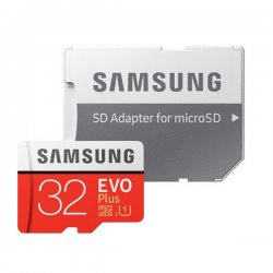 Samsung Evo Plus microSDHC 32GB U1 with Adapter MB-MC32GA/EU