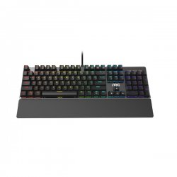 AOC KB GK500 Wired Gaming keyboard Red Switches mechanical ,RGB ,palm rest GK500DRUH/01