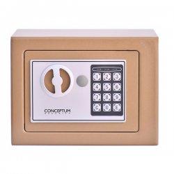 Conceptum 17E mini Safebox Μπεζ 5200250814906