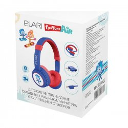 Elari FixiTone Air Kids Wireless Headphone Blue/Red GR