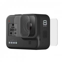 GoPro Tempered Glass Lens + Screen Protectors for HERO8 Black AJPTC-001