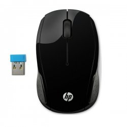 HP 220 Wireless Mouse Snow Black 258A1AA