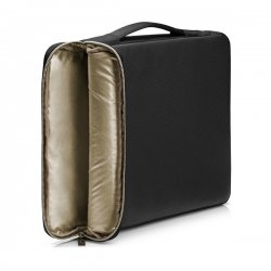 "HP Carry Sleeve 15.6"" Τσάντα Μεταφοράς Laptop  Black-Silver 3XD36AA"