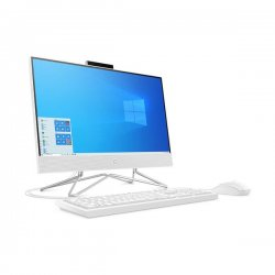 "HP 22-df0021nv All in One PC 21.5"" FHD TOUCH (i3-10100T, 8GB, 256GB SSD) White 3T138EA + antivirus (1 Licence - 2 Year)"
