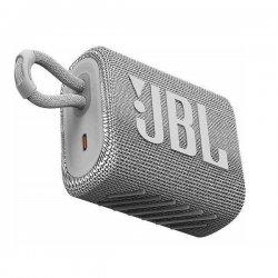 JBL Go 3 Portable Bluetooth Speaker Waterproof White