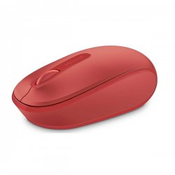 Microsoft Wireless Mobile Mouse 1850 1000 DPI Red U7Z-00034