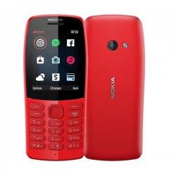 NOKIA 210 Dual SIM Red (2019 / Ελληνικό Μενού)