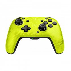 PDP Faceoff Wireless Deluxe Νintendo Switch Controller Yellow 500-202-CMYL