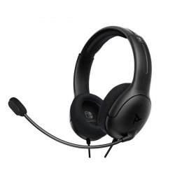 PDP Gaming LVL40 Wired Stereo Headset For Nintendo Switch Grey 500-162-EU-BK