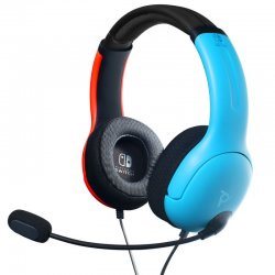 PDP Gaming LVL40 Wired Stereo Headset For Nintendo Switch