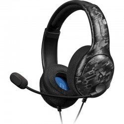 PDP Gaming LVL40 Wired Stereo Headset For PS4 Black Camo