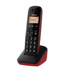 Panasonic KX-TGB610JTR Ασύρματο Ψηφιακό Τηλέφωνο Μαύρο-Κόκκινο EU