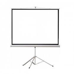 TPS-100/4:3 Αναδιπλούμενη οθόνη βιντεοπροβολέα με τρίποδο, 100'' 200x150cm
