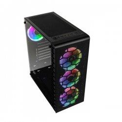 Kolink Observatory Lite Mesh RGB Tempered Glass Black GEKL-066