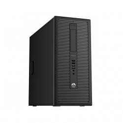 HP Prodesk 600 G1 MT I5-4570/8GB/256GB-NEW SSD & 500GB/DVDRW/WIN10PRO (2.901.527) Refurbished - 2 Years Warranty