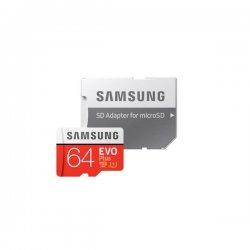Samsung Evo Plus Micro SDXC 64GB Class10 U1 MB-MC64HA/EU