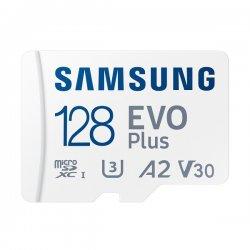 Samsung Evo Plus 128GB (2021) microSDXC Class 10 U3 V30 A2 με αντάπτορα MB-MC128KA/EU