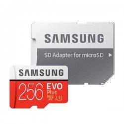 Samsung Evo Plus 256GB MicroSDXC Class 10 / UHS-I U3 + SD Adapter (2020) MB-MC256HA/EU