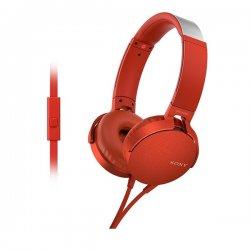 Sony MDR-XB550APB Red