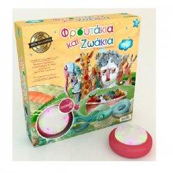 ιδέα Επιτραπέζιο Φρουτάκια και Ζωάκια με Ηλεκτρονικό buzzer 14710