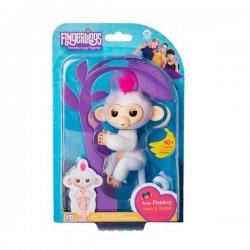 WowWee Fingerlings Baby Monkey White Sophie 3702