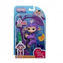WowWee Fingerlings Baby Monkey Purple Mia 3704