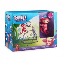 WowWee Fingerlings Playset with 1 Monkey Aimee - Γυμναστήριο Ζούγκλας 3732