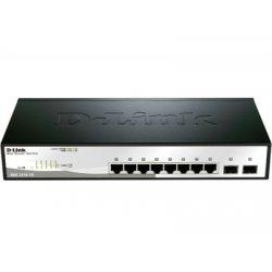 D-Link DGS-1210-10 Gigabit Smart+ - Switch - 10 ports
