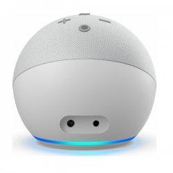 Amazon Echo Dot with Clock (4th Gen) Glacier White
