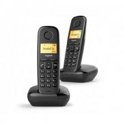 Gigaset A170 Duo Black Ασύρματο Τηλέφωνο EU