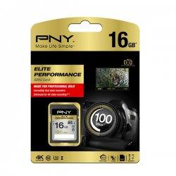 PNY Elite Performance Class 10 UHS-I SDHC 16GB 100MB/s SD16G10ELIPER-EF